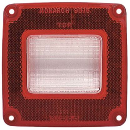 Picture of Grote  White/Red Lens for 51042/51102/51192/51242/51342/52002/52082/52112/52122 90752 69-9074