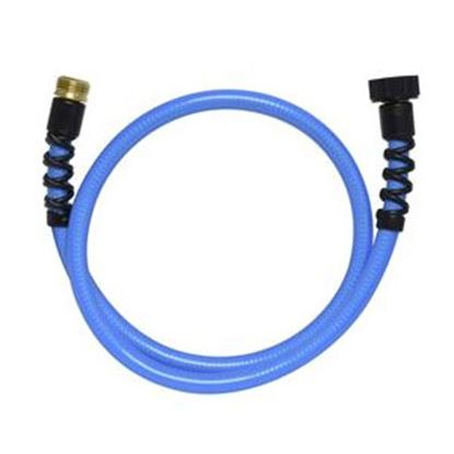 "Picture of Valterra  Blue 1/2"" Dia 4' L Fresh Water Hose W01-8048 71-5784"