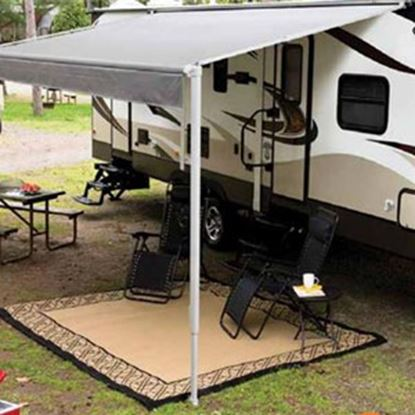 """Picture of Lippert Solera Black 12V Infinite Pitch 69"""" Patio Awning Arm 434723 90-0028"""