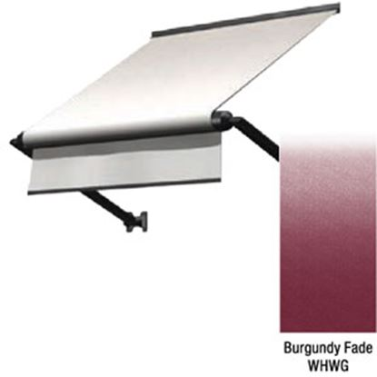 """Picture of Lippert Solera Burgundy Fade Vinyl 66""""L X 18""""Ext Manual Window Awning V000335158 90-2390"""