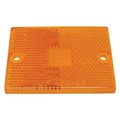 Picture of Peterson Mfg.  Amber Lens for Peterson Series 114A/114R/115A/115R/440L/441L 55-15A 93-7667