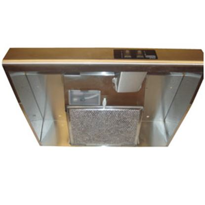 "Picture of Heng's  20""W Black Ductless Range Hood R045A3800-C1 95-3550"