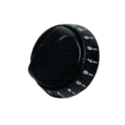 Picture of Dometic  Black Ignition/Burner/Oven Control Knob for Wedgewood 52719 96-1680